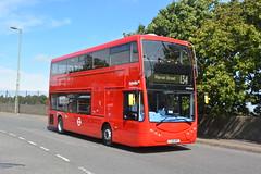 YJ19 HVE (OME2654) Metroline London (hotspur_star) Tags: londontransport londonbuses londonbus londonbuses2019 optaremetrodecker tfl transportforlondon electricbus busscene2019 doubledeck metrolinelondon 134 ome2654 yj19hve