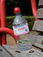 Evian (D_Alexander) Tags: southeastlondon england evian plasticbottle brookmillpark london lewisham water southlondon uk bottle