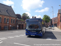 SN16OPJ 26054 Stagecoach Merseyside and South Lancashire in Chester (Nuneaton777 Bus Photos) Tags: stagecoach merseysideandsouthlancashire adl enviro 200mmc sn16opj 26054 chester