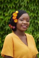 livia (157)-01 (Neal J.Wilson) Tags: portrait portraits african africa flowers yellow pink women