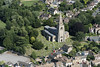 Aerial image of St Mary The Virgin Church in Godmanchester