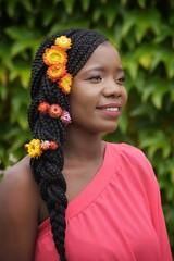 livia (245)-01 (Neal J.Wilson) Tags: portrait portraits african africa flowers yellow pink women
