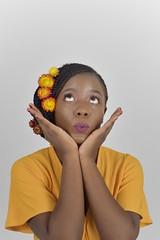 livia (51)-01 (Neal J.Wilson) Tags: portrait portraits african africa flowers yellow pink women