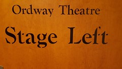 Stage Left (Mamluke) Tags: sign theatre stage backstage left stageleft ordway ordwaytheatre minnesota stpaul stpaulminnesota mamluke saintpaul directions wood painted woodgrain words typography font mots palabras parole texte woorden