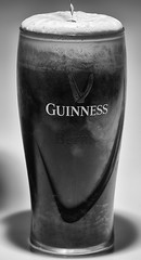 Pint of Guinness (Bernie Condon) Tags: guinness stout irish beer black white head glass dublin