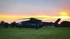 Roskilde Airshow - Backlit Rescue Helicopter (q42) Tags: roskildeairshow flying z6 helicopter airshow eh101 nikonz6