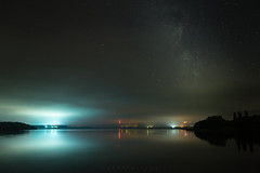 *** (Lee Ratters) Tags: sony a7 samyang 24mm f14 bristol somerset chew valley lake fog night sky milky way astronomy stars reflections galaxy universe space