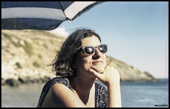 Chara (Kechagiar) Tags: portrait color slr film analog olympus 64 greece tungsten expired zuiko om1 madeinjapan 50mmf18 syros kcgr