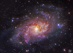 M33 (cristianfanel@ymail.com) Tags: galaxy space astrophotography telescope triangulumgalaxy m33 lrgb astronomy sky magicsky ccd stars astrometrydotnet:id=nova3609808 astrometrydotnet:status=solved