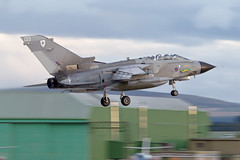 ZG771/133 XIII Sqn GR4 (PhoenixFlyer2008) Tags: panavia tornadogr4 rwy23 moray raf royalairforce lossiemouth scotland panning aviation military speed zg771 xiii sqn stabbed cats aircrew aircraft