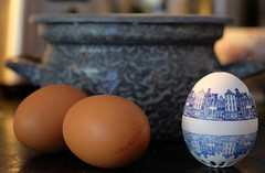 the egg timer (=Mirjam=) Tags: fujifilmxt20 52in2019challenge inmykitchen eggs eggtimer breakfast kitchen cooking augustus 2019