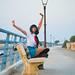 Shooting Tsuyu - My Hero Academia - Bakashi Cosplay - Saintes Maries de la Mer -2019-08-06- P1811690