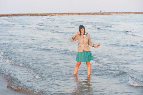 Shooting Tsuyu - My Hero Academia - Bakashi Cosplay - Saintes Maries de la Mer -2019-08-06- P1811657
