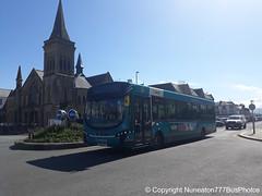 CX14BYF 3168 Arriva Buses Wales in Llandudno (Nuneaton777 Bus Photos) Tags: arriva buses wales wright pulsar cx14byf 3168 llandudno