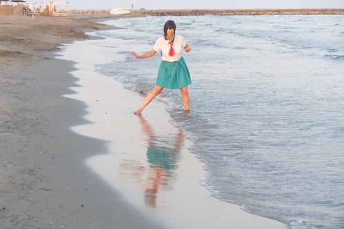 Shooting Tsuyu - My Hero Academia - Bakashi Cosplay - Saintes Maries de la Mer -2019-08-06- P1811661