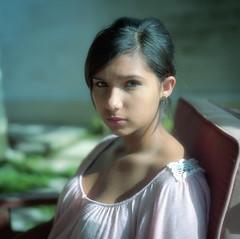 Adriana (Eddie La Mole) Tags: adriana portrait hasselblad500cm planar80 portra160 film mediumformat 120