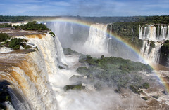 Poor Niagara! (LeoMuse747) Tags: iguazu falls cataratas do iguaçu foz cataratasdoiguaçu nikon d5100 nikkor 18105mm vr camera lens dslr nature photography rainbow waterfalls cataract brasil brazil argentina