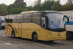A B Coaches, Totnes (DN) - W26 ABC (GK56 ACY, A15 YEL, BO55 YEL, GK56 ACY, G2 ELY) (peco59) Tags: w26abc gk56acy a15yel bo55yel g2ely volvo b12b b12 mistral jonckheere abcoaches abcoachestotnes greywitchford greysofely greyscoaches yelloway yellowaychadderton yellowaycoaches coach coaches psv pcv photo photos