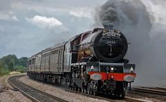 6201 (paul_braybrook) Tags: 6201 46201 princesselizabeth lms pacific copmanthorpe york scarboroughflyer railwaytouringcompany charter trains