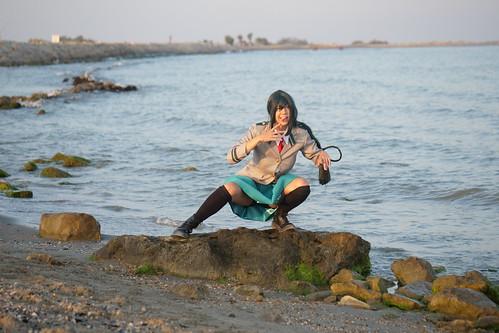 Shooting Tsuyu - My Hero Academia - Bakashi Cosplay - Saintes Maries de la Mer -2019-08-06- P1811606