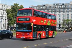 LJ16 EZN (1472) Metroline London/BYD (hotspur_star) Tags: londontransport londonbuses londonbus londonbuses2019 electricbus tfl london transportforlondon byd busscene2019 doubledeck metrolinelondon lj16ezn 1472 98