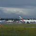 Birmingham Airport - TUI, Vueling, Jet2 and Emirates planes