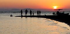 Sunset (ᗰᗩᖇᓰᗩ ☼ Xᕮ∩〇Ụ) Tags: sun sea sky sonne meer himmel silhouettes imagine canoneos1100d moments momente sonnenuntergang sunset στιγμέσ ηλιοβασίλεμα θάλασσα ουρανόσ σιλουέτεσ ιόνιοπέλαγοσ peloponnes ioniansea πελοπόννησοσ