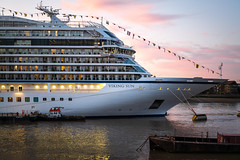 Viking Sun docks at Greenwich, London (godrick) Tags: greenwich cruise ship england gb london cruiseship liner uk vikingsun