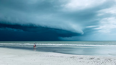StormCloud_Ann-Kunz- (Ann Kunz) Tags: storm clouds beach ocean people fortmyersbeach florida gulfcoast weather nature sky