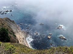 Big Sur (saudades1000) Tags: fog bigsur california northerncalifornia cliff ocean oceancliff scenic