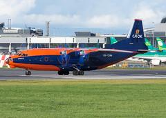 UR-CNN An-12BK (Irish251) Tags: cavok cvk dub eidw dublin airport antonov an12 cargo