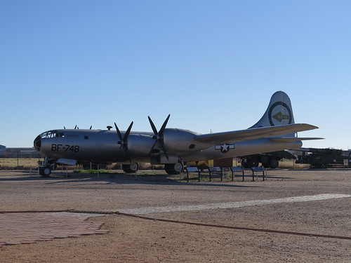 B-29 Superfortress Nuclear Bomber #45-21748