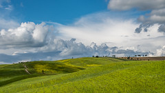 DSC_1005 (Ann Kunz) Tags: tuscany travel italy landscape sky clouds hills nature