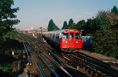 1972 MkII stock set 3263 at Stonebridge Park. London. (Marra Man) Tags: type1972mkiistock 1972mkii 3263 londontransport stonebridgeparkstation stonebridgepark tubetrain bakerlooline