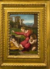 Rafael Sanzio (miguelmoll387) Tags: museo painting cuadro rafael virgen niño marco toledo renacimiento renaissance catedraldetoledo españa spain arte nikon nikond7100 objetivosigma