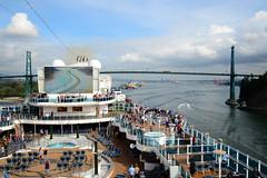 Royal Princess leaving Vancouver for Alaska (CKwok Photography) Tags: