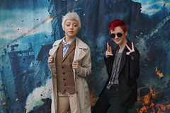 Good Omens (Kelson) Tags: lbcc longbeachcomiccon comiccon lbcc2019 cosplay goodomens azirophale crowley angel demon