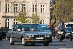 Spotting 2017 - BMW E28 (Deux-Chevrons.com) Tags: bmw e28 bmwe28 paris france car coche voiture automobile auto automotive spot spotted spotting croisée rue street carspotting classiccar classic vintage oldtimer ancienne collection collector collectible youngtimer treet