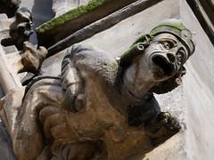 (TheOneShot (Gunnar Marquardt)) Tags: sculpture art stone face eyes light expression church old panasonic lumix gx80 magdeburg germany