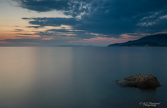 Shadow of a thought (Through_Urizen) Tags: category erdek kapidag places seascape sunset turkey evening dusk clouds cloudy sky water sea longexposure mountain hills headland coast coastal rock seashore canon70d canon sigma1020mm outdoor landscapephotography travelphotography