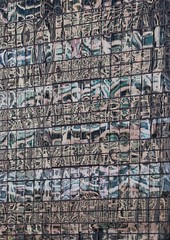 Surreal (carlos_ar2000) Tags: ventana window reflejo reflected reflection distorsion distortion color colour surreal abstracto abstract onda wave edificio building arquitectura architecture puertomadero buenosaires argentina