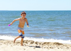 Running (Chaz Cheadle) Tags: beach capecod eastham summer vacation