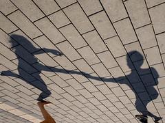 dancing shadows (Werner Schnell Images (2.stream)) Tags: ws dancing shadows dance schatten tanz tanzende stadtfest siegen