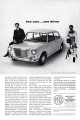 1964 MG Sport Sedan British Motor Corporation BMC USA Original Magazine Advertisement (Darren Marlow) Tags: 1 4 6 9 19 64 1964 m g mg s sport sedan b c british motor corporation car cool collectible collectors classic a automobile vehicle e english england britain 60s