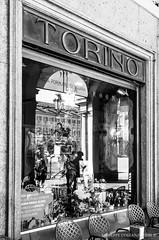 Torino...inside (Peppis) Tags: italia italy piemonte torino turin bn biancoenero blackandwhite bw reflection riflesso giuseppecostanzo peppis nikon nikond7000 anticando centrostorico bestimageofitaly nationalgeographic