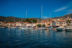 Waterside..... (Dafydd Penguin) Tags: waterside water sea quayside quay harbour harbourside harbor port dock galaxidi town coast gulf corinth itea greece mediterranean sail sailboat sailing boat yacht yachting cruise leica m10 35mm summicron f2 asph
