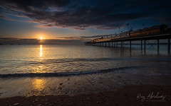 Autumn Begins (RTA Photography) Tags: meteorologicalautumn sea torbay paigntonpier sunrise sky outdoors dawn season light clouds rtaphotography nikond750 1835 nikkor nikkor1835 beach coast southdevon devon