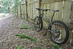 Cullaird Woods (What I saw...) Tags: stanton sherpa 853 mountain bike collard woods fence inverness highlands scotland