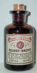 Filliers - Bachte 1928 dry gin (luc1102) Tags: drink alcoholic bottle gin 2019 collection miniature