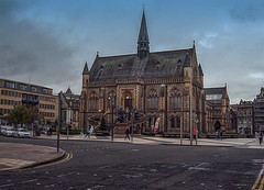 McManus Gallery (johnny_9956) Tags: dundee building street urban canon scotland 7d gallery museum outdoor outside hdr people road